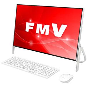 FMVF70C2W 富士通 23.8型 デスクトップパソコン FMV ESPRIMO FH70/C2 ホワイト [Core i7/メモリ 4GB/HDD 1TB/Office H&B 2016]※2018年夏モデル