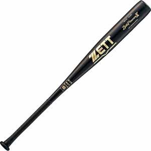 Z-BAT11883-1900 ゼット 硬式野球用金属バット(83cm・ブラック) ZETT ゼットパワークロス