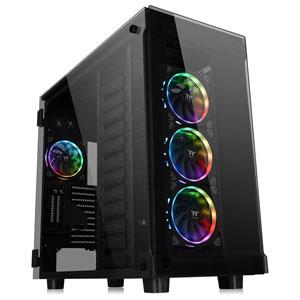 CA-1I9-00F1WN-00 Thermaltake フルタワー型PCケース(ブラック) VIEW 91 TG RGB
