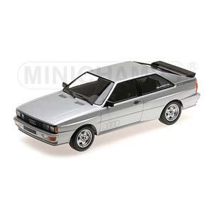 1/18 Audi Quattro 1980 Silver【155016122】 ミニチャンプス