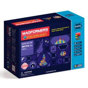 マグフォーマー プレスクールセット 180ピース【MF712004J】 ボーネルンド