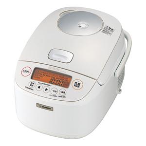 NP-BH18-WA 象印 圧力IH炊飯ジャー(1升炊き) ホワイト ZOJIRUSHI 極め炊き