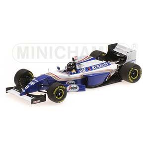 1/43 Williams Renault FW16 Damon Hill Spa-Francorchamps 1994 Winner【417940400】 ミニチャンプス