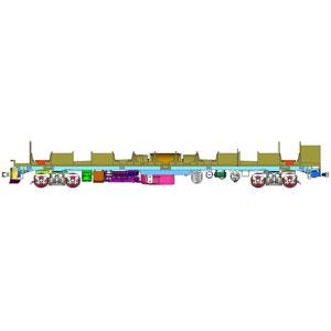 [鉄道模型]トラムウェイ (HO) TW-MTR45 キハ45用動力装置
