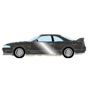 1/43 日産スカイラインGT‐R (BCNR33) V‐spec 1997 ダークグレイパール【EM381E】 メイクアップ