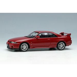 1/43 日産スカイラインGT‐R (BCNR33) V‐spec 1997 スーパークリアーレッド2【EM381F】 メイクアップ
