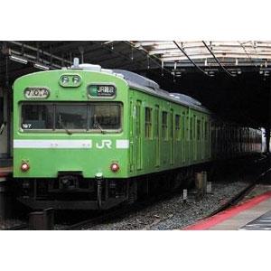 [鉄道模型]グリーンマックス (Nゲージ) 50611 JR103系(関西形・ウグイス・NS617編成)6両編成セット (動力付き)
