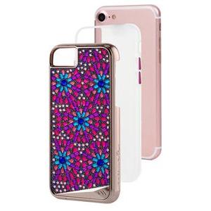 CM036112 Case-Mate iPhone 8/7/6s/6用 クリアケース 耐衝撃 ハイブリット二重構造(Brooch)