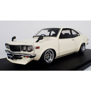 1/18 Mazda Savanna (S124A) White【IG0704】 ignitionモデル