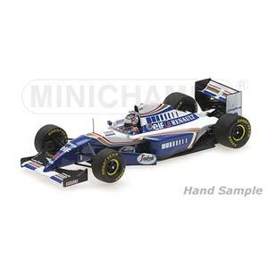 1/43 ウィリアムズ ルノー FW16 フランスGP F1復帰 1994【417940702】 ミニチャンプス