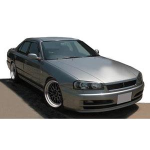 1/18 Nissan Skyline 25GT Turbo (ER34) Silver【IG1578】 ignitionモデル