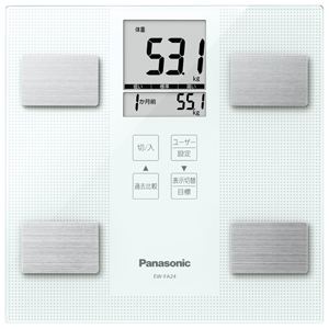 EW-FA24-W パナソニック 体組成バランス計(ホワイト) Panasonic [EWFA24W]