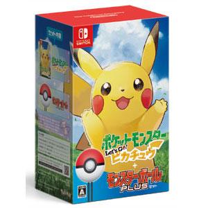 【特典付】【Nintendo Switch】ポケットモンスター Let's Go! ピカチュウ モンスターボール Plusセット ポケモン [HAC-R-ADW2A NSWポケモンピカチュウモンスターボール]