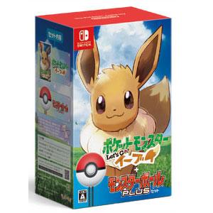 【Nintendo Switch】ポケットモンスター Let's Go! イーブイ モンスターボール Plusセット ポケモン [HAC-R-ADW3A NSWポケモンイーブイモンスターボール]