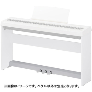 F-350W カワイ ES110 専用電子ピアノ3本ペダルユニット(ホワイト) KAWAI