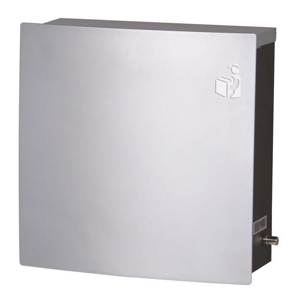 MB-1 SV ケイ・ジー・ワイ工業 プラッツ 宅配ボックス兼用ポスト(鍵付き)シルバー KGY [MB1SVKGY]