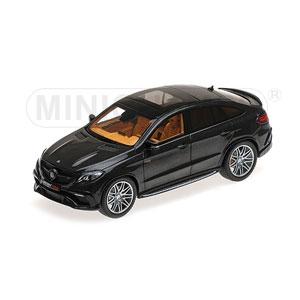 1/43 ブラバス 850 AUF BASIS メルセデス ベンツ GLE 63 S 2016 ブラックメタリック【437034311】 ミニチャンプス