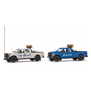 1/50 フォード F250 トラック エスコートセット Sarens [IMC201042] 京商