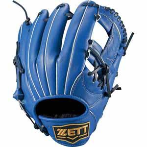 Z-BRGB34820-2300-LH ゼット 軟式野球用グラブ(サイズ4・右投用・ブルー) ZETT デュアルキャッチ オールラウンド