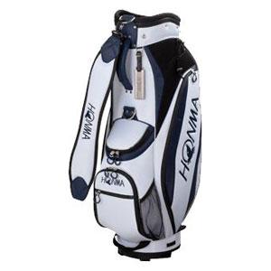 HO17 CB1732-0105 本間ゴルフ キャディバッグ コンパクトスポーツモデル(ホワイト/ブルー・8.5型・47インチ対応) HONMA
