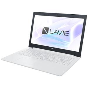 PC-NS100K2W NEC 15.6型 ノートパソコン LAVIE Note Standard NS100/K2W カームホワイト LAVIE 2018年 夏モデル[Celeron/メモリ 4GB/HDD 500GB/Office H&B 2016]