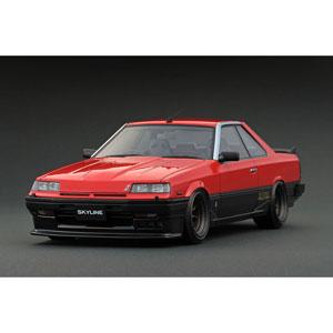 1/18 Nissan Skyline 2000 RS-X Turbo-C (R30) Red Watanabe-Wheel【IG0990】 ignitionモデル