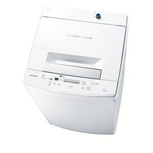 (標準設置料込)AW-45M7-W 東芝 4.5kg 全自動洗濯機 ピュアホワイト TOSHIBA [AW45M7W]