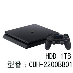 PlayStation 4 ジェット・ブラック 1TB ソニー・インタラクティブエンタテインメント [CUH-2200BB01 PS4ブラック1TB]