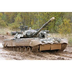 【再生産】1/35 ロシア連邦軍 T-80U主力戦車【09525】 トランペッター