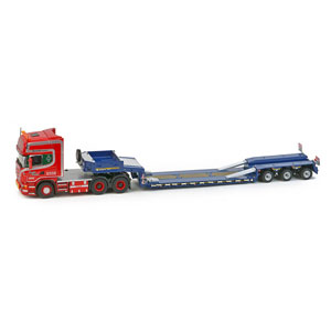 1/50 Scania top line 6×4 Goldhofer 3-axis low-loader