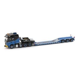 1/50 H2 Mercedes Arocs 8x4 Goldhofer 3-Axle Low Loader【IMC330058】 京商