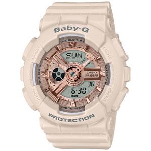 BA-110CP-4AJF カシオ BABY-G Pink Beige Colors デジアナ時計 レディースタイプ [BA110CP4AJF]【返品種別A】