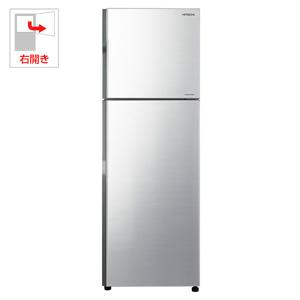 (標準設置料込)R-23JA-S 日立 230L 2ドア冷蔵庫(メタリックシルバー)【右開き】 HITACHI