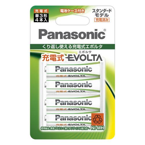 BK-3MLE 4BC 倉 パナソニック ニッケル水素電池 単3形 スタンダードモデル Panasonic ご予約品 充電式EVOLTA 4本入 BK3MLE4BC
