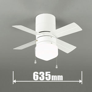 WF-255ND オーデリック LEDシーリングファン【カチット式】 ODELIC