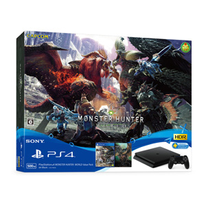 PlayStation 4 MONSTER HUNTER: WORLD Value Pack ソニー・インタラクティブエンタテインメント [CUHJ-10026 PS4 MHWVP ホンタイドウコンバン]