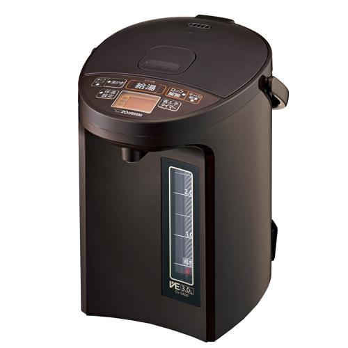 CV-GB30-TA 象印 マイコン沸とうVE電気まほうびん 3.0L ブラウン ZOJIRUSHI 優湯生(ゆうとうせい)
