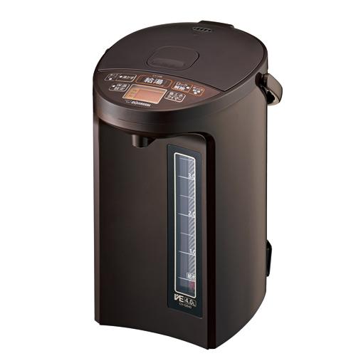 CV-GB40-TA 象印 マイコン沸とうVE電気まほうびん 4.0L ブラウン ZOJIRUSHI 優湯生(ゆうとうせい)