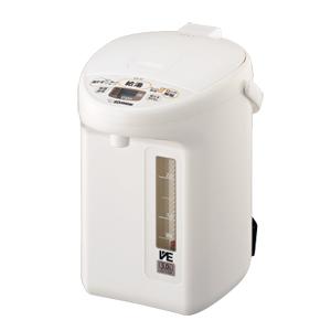 CV-TZ30-WA 象印 マイコン沸とうVE電気まほうびん 3.0L ホワイト ZOJIRUSHI 優湯生(ゆうとうせい)