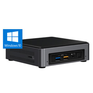 BOXNUC7I7BNKQ インテル Intel NUC 7 Enthusiast Mini PC with Windows 10 [Core i7/メモリ 16GB/SSD 512GB]手のひらサイズの高性能ミニPC
