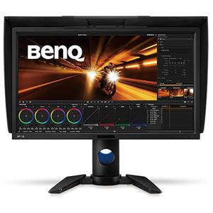 PV270 BenQ 27型ワイド 液晶ディスプレイ カラーマネジメントディスプレイ(IPS/AdobeRGB 99%/安定まで5分/遮光フード)