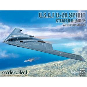 1/72 B-2A スピリット ステルス爆撃機 w/MOP GBU-57【MODUA72206】 モデルコレクト