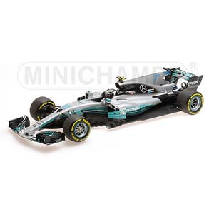 1/18 メルセデス AMG ペトロナス フォーミュラ ワン チーム F1 W08 EQ POWER+ 2017【110170077】 ミニチャンプス