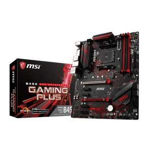 B450 GAMING PLUS MSI ATX対応マザーボードB450 GAMING PLUS