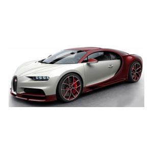 1/18 Bugatti Chiron Red Carbon/Glacier【BUG06E】 MR Collection