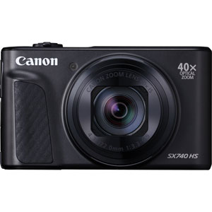 PSSX740HSBK キヤノン デジタルカメラ「PowerShot SX740 HS」(ブラック)