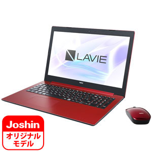 PC-NS150KAR-J NEC 15.6型 ノートパソコン 【Joshin オリジナル】LAVIE Note Standard NS150/KAR-J カームレッド LAVIE 2018年 夏モデル[Pentium/メモリ 4GB/HDD 1TB/Office H&B 2016]