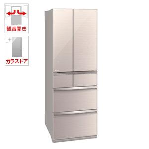 (標準設置料込)MR-WX52D-F 三菱 517L 6ドア冷蔵庫(クリスタルフローラル) MITSUBISHI 置けるスマート大容量 WXシリーズ