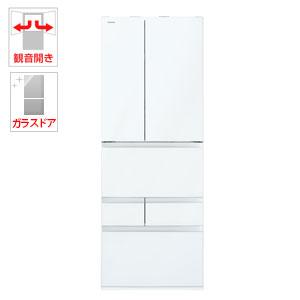 (標準設置料込)GR-P600FW-UW 東芝 601L 6ドア冷蔵庫(クリアグレインホワイト) TOSHIBA VEGETA(べジータ)