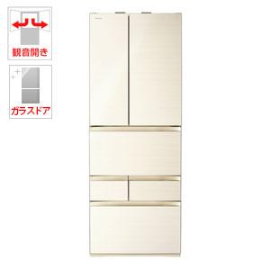 (標準設置料込)GR-P600FW-ZC 東芝 601L 6ドア冷蔵庫(ラピスアイボリー) TOSHIBA VEGETA(べジータ), あいあいショップさくら:aa072afb --- oyadojapan.jp
